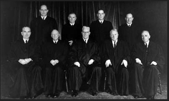 supreme court 1966 earl warren black